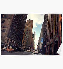 Manhattan City Poster