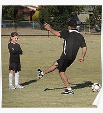 Soccer lesson Poster