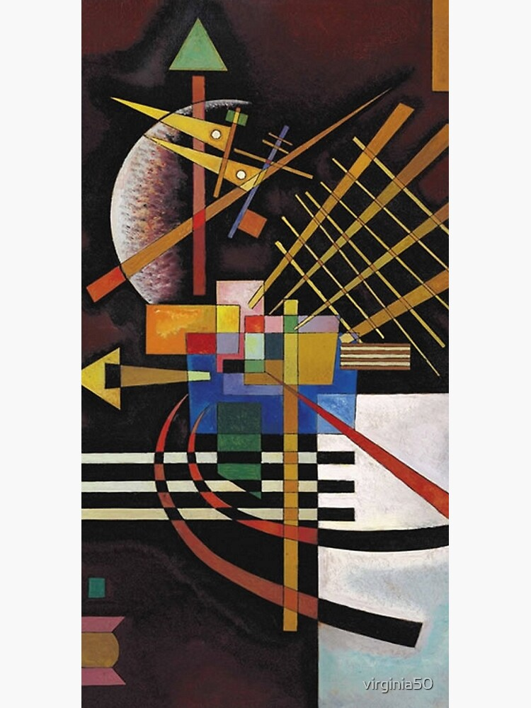 Kandinsky - Above and Left, popular abstract artwork by virginia50