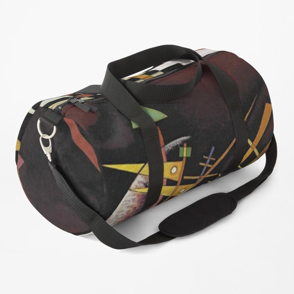 Kandinsky - Above and Left, popular abstract artwork Duffle Bag