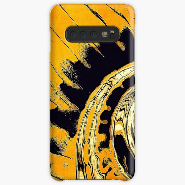 Chaotic Orange Abstract Samsung Galaxy Snap Case
