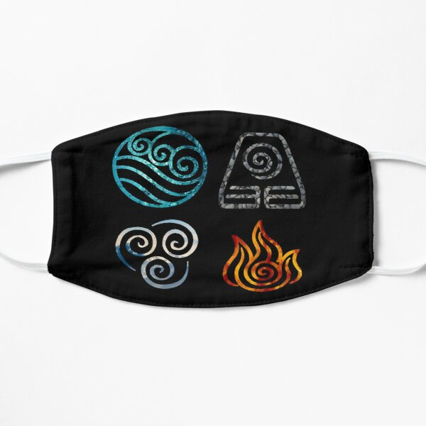 Avatar the Last Airbender Element Symbols Mask
