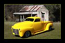 Canary Yellow Chevy Pickup by Keith Hawley