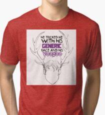 Generic Face Tri-blend T-Shirt