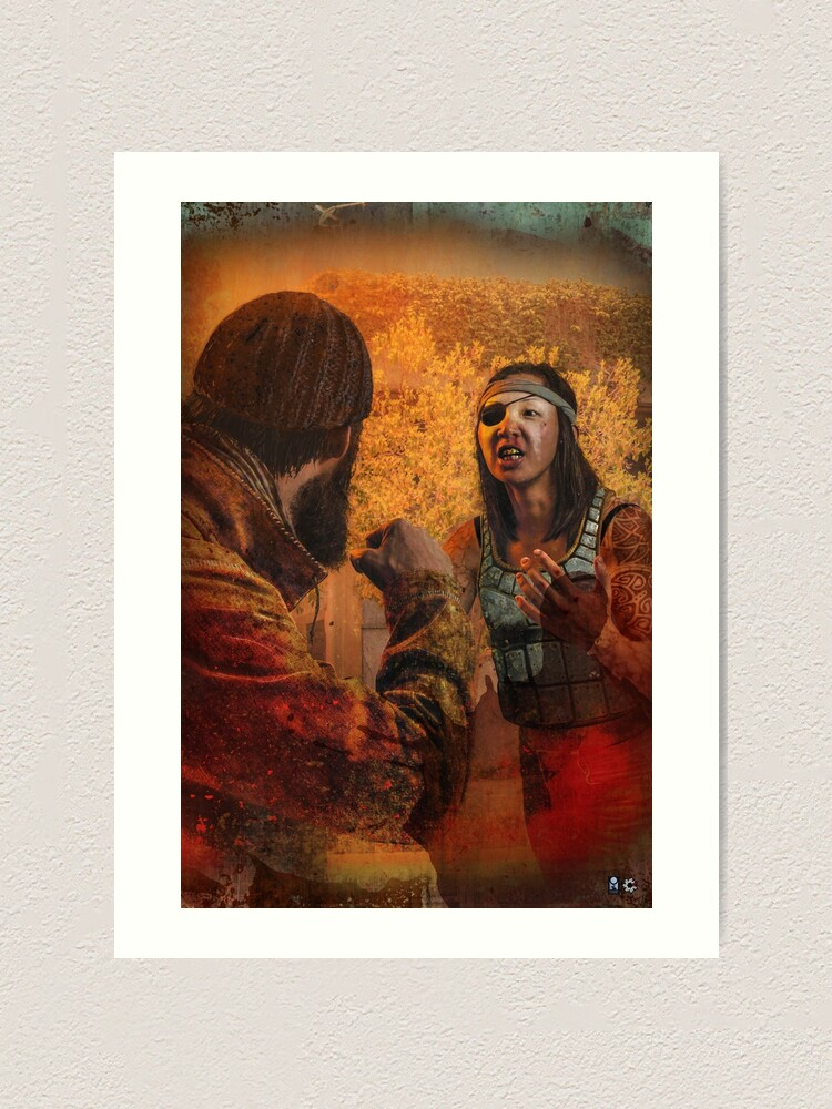 Alternate view of Dystopia Rising Art: Your Brothers and Sisters Art Print