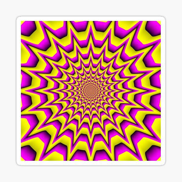 iLLusion, иллюзия, delusion, fantasy, hallucination, phantasm, phantom, ghost Sticker
