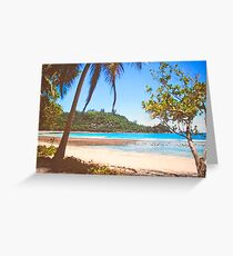 Seychelles. Greeting Card