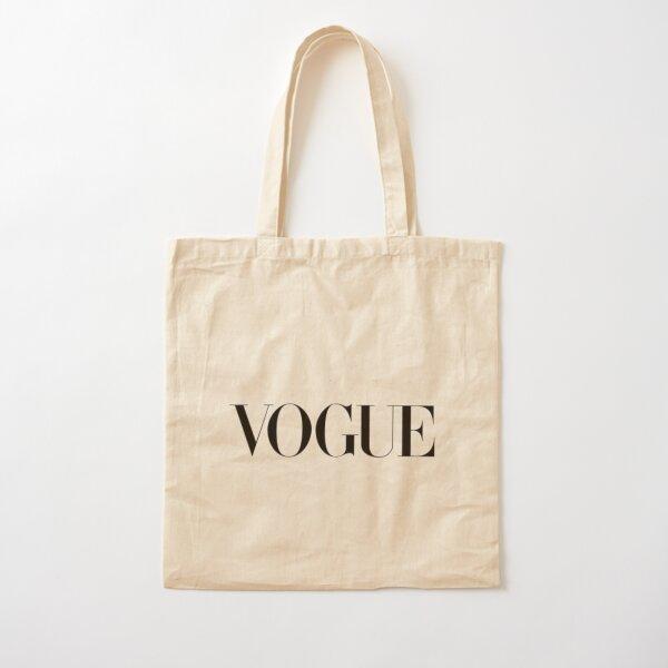 Logotipo de VOGUE Bolsa de algodón