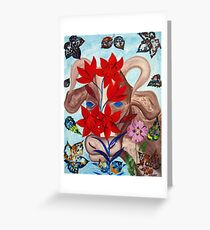Variation of the Bull Year Greeting Card