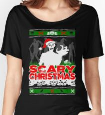 Scary Christmas Zombies Women's Relaxed Fit T-Shirt