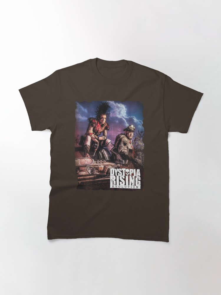 Alternate view of Dystopia Rising Art: Wild, Wild Wastes Classic T-Shirt