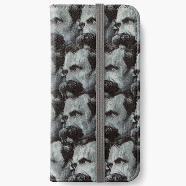 Nietzsche pattern iPhone Wallet