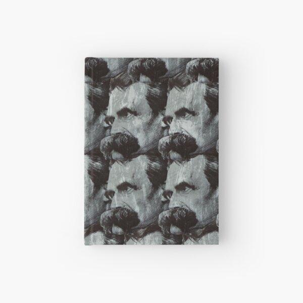Nietzsche pattern Hardcover Journal
