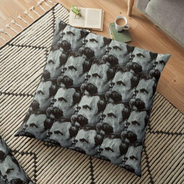 Nietzsche pattern Floor Pillow
