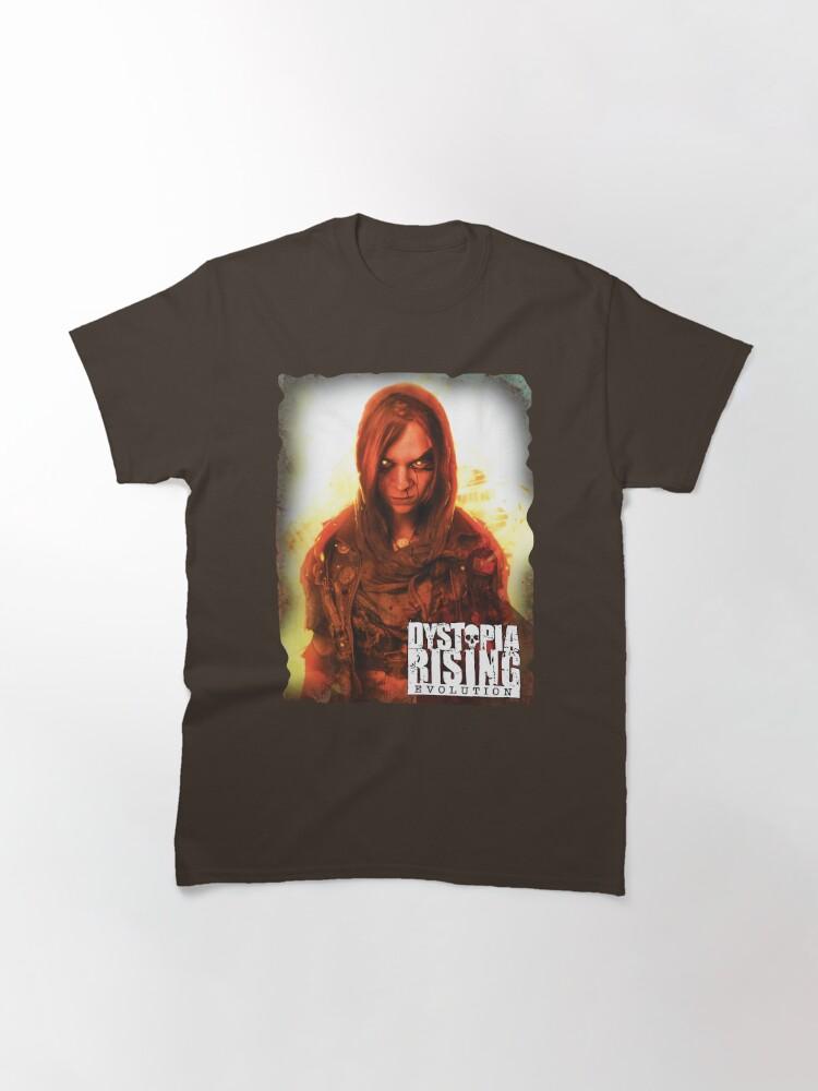 Alternate view of Dystopia Rising Art: Brain Bleed Classic T-Shirt