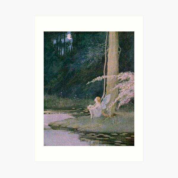 The Nightingale - Ida Rentoul Outhwaite Art Print