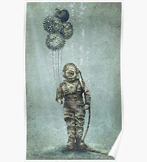 Balloon Fish Poster