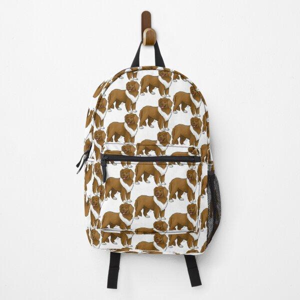 Newfoundland - Brown Backpack