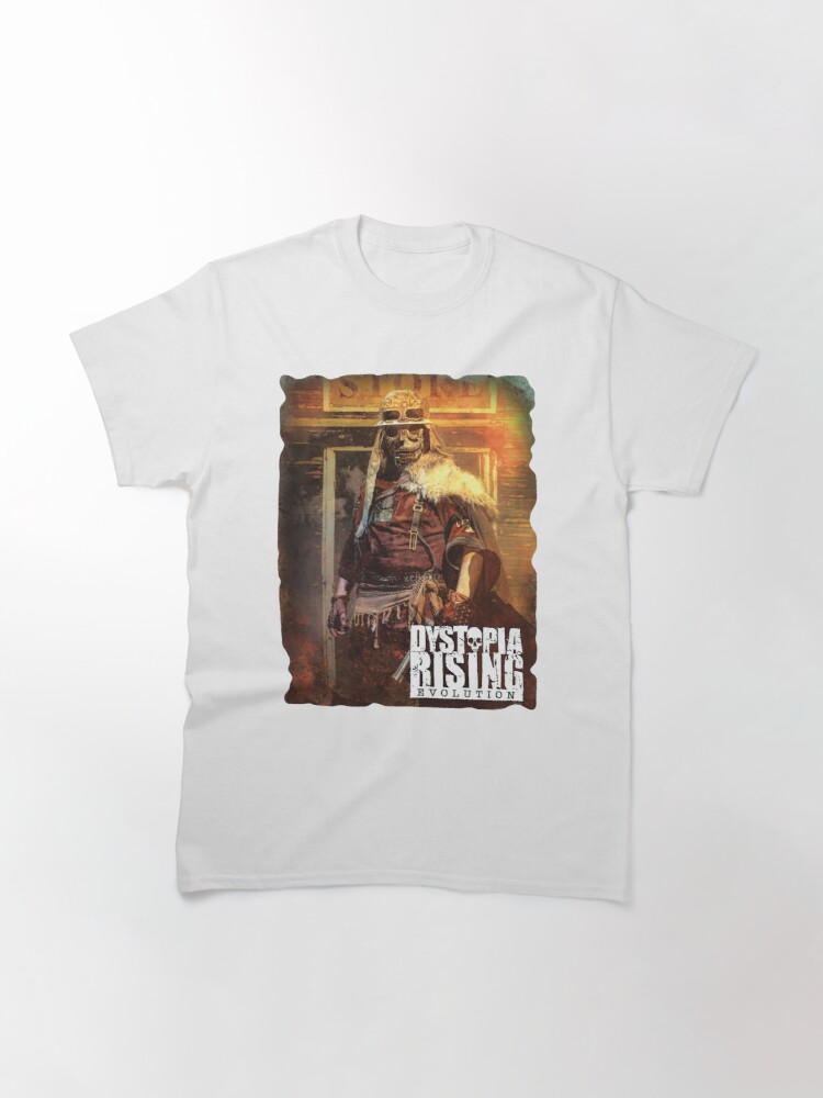 Alternate view of Dystopia Rising Art: Let the Dead Lie Classic T-Shirt