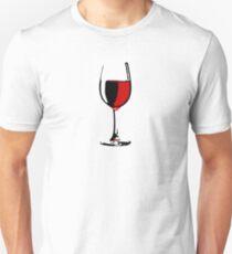 Glass of Wine Unisex T-Shirt