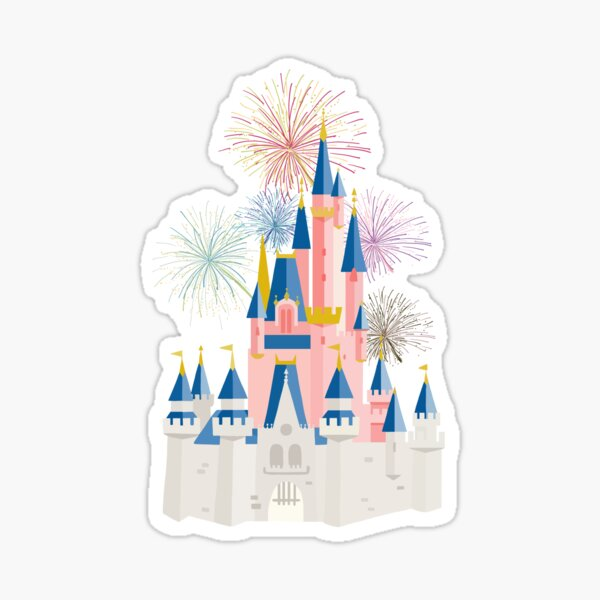 Fairytale Castle Sticker