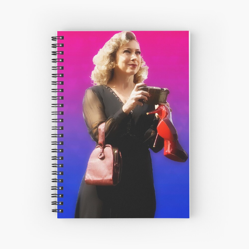 Doctor Song Spiral Notebook