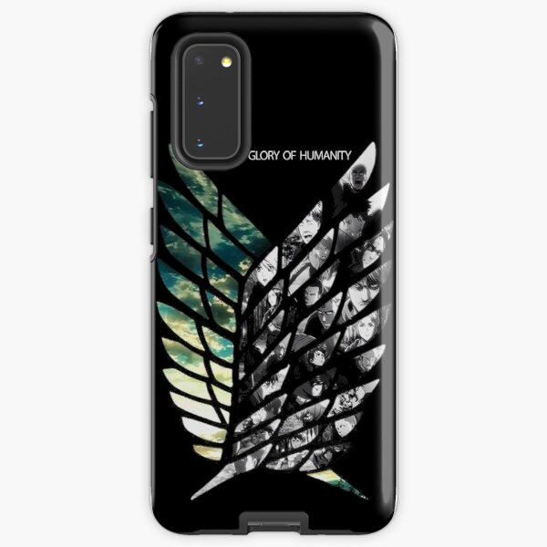 Attack On Titans Wings of Freedom Samsung Galaxy Tough Case