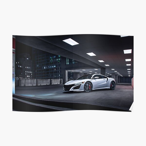 NSX Front Poster