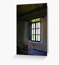 Room Without a View Greeting Card