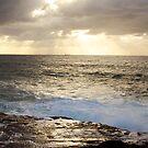 Sunrise Over Sea by Jeremy Harrington