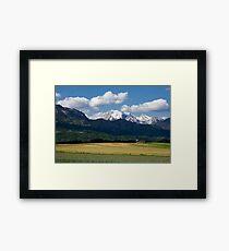 Spring in the Alps Framed Print