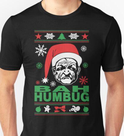 Bah Humbug Ugly Christmas T-Shirt