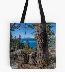 Above Chimney Beach  Tote Bag