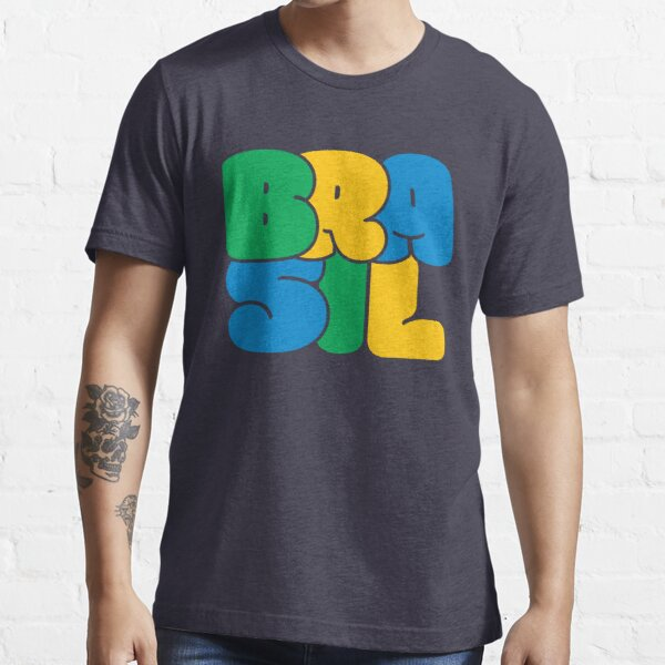 diamond shape Brasil logo Essential T-Shirt