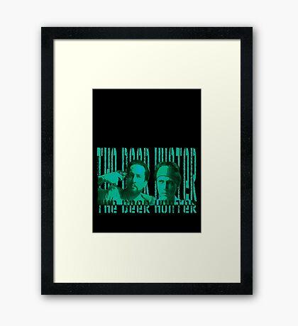 the deer hunter Framed Print