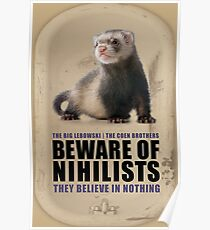 Beware of Nihilists Poster