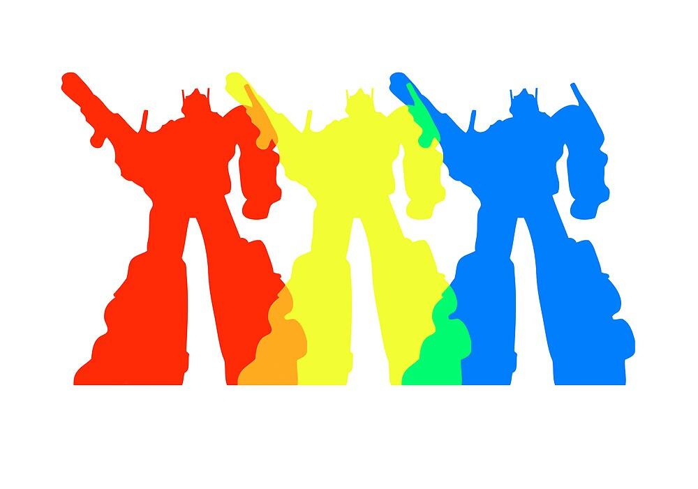 Optimus Prime Colors by CottonRobot