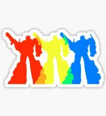 Optimus Prime Colors Sticker