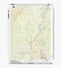 USGS TOPO Map New Hampshire NH Grantham 329582 1998 24000 iPad Case/Skin