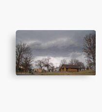 Storm Season 2013 Begins 9 Canvas Print