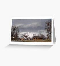 Storm Season 2013 Begins 9 Greeting Card