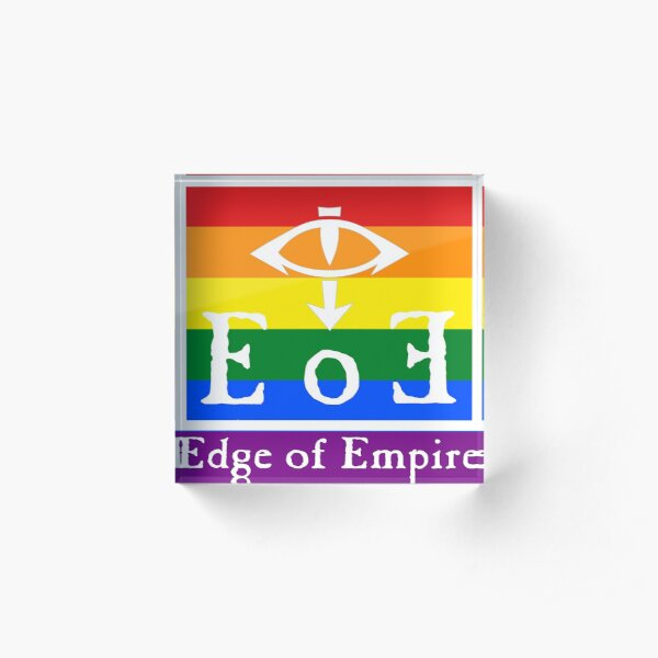 Edge of Empire Pride Acrylic Block