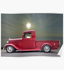 1934 Chevrolet Pickup Poster