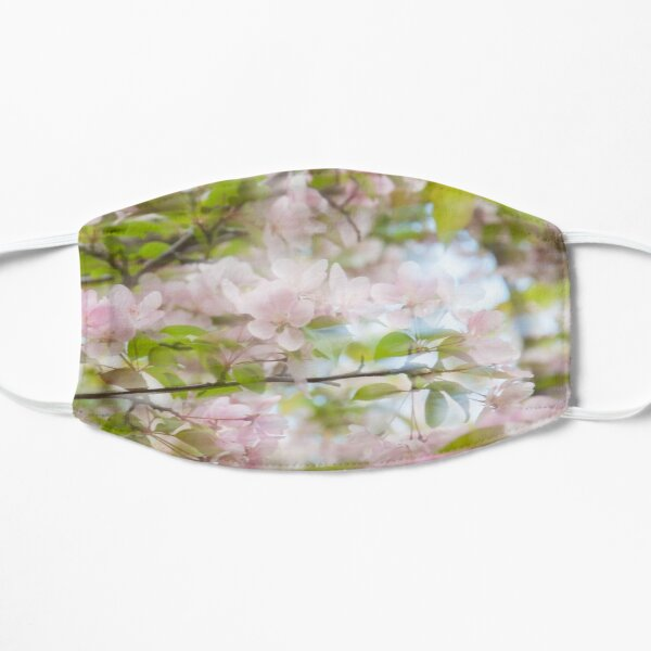 Abstract Photography, Sweet Spring, Apple Blossom Mask