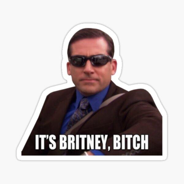 its britney, bitch. the office Sticker