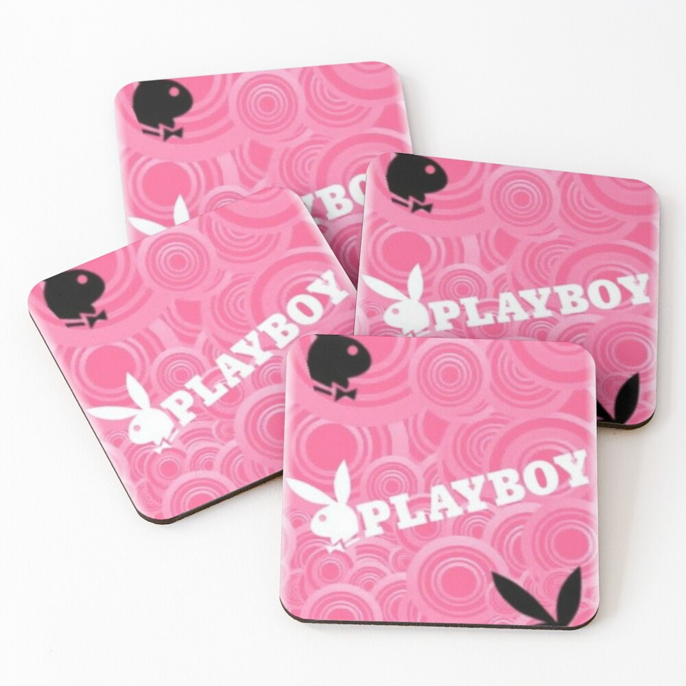 y2k bunny aesthetic Coasters (Set of 4)