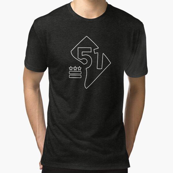 51st State (white) Tri-blend T-Shirt