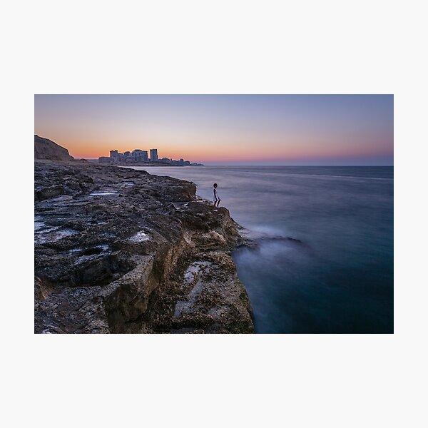 Maltesischer Engel⎮Valletta Fotodruck