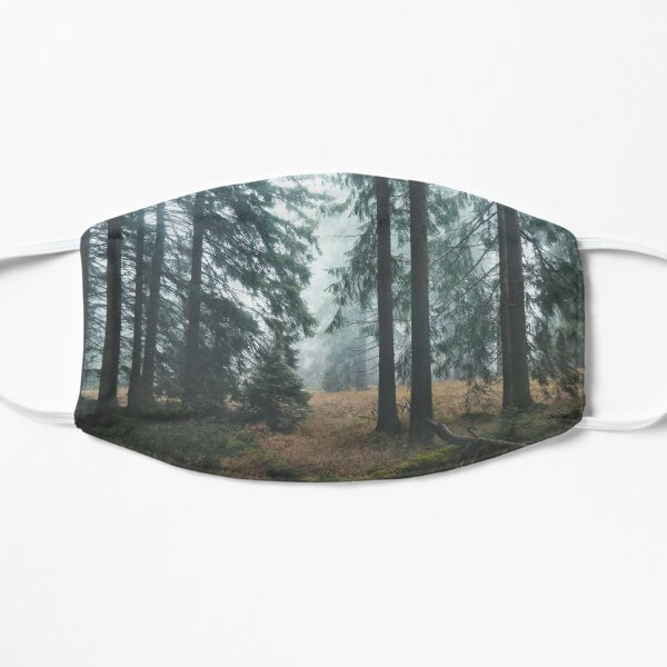 Deep In The Woods Flat Mask