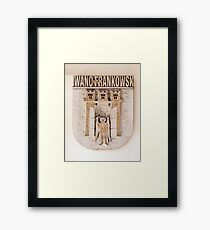 Coat of arms. Framed Print
